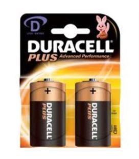 Pila alcalina plus power d (lr20) blister 2 duracell - DRS0560220