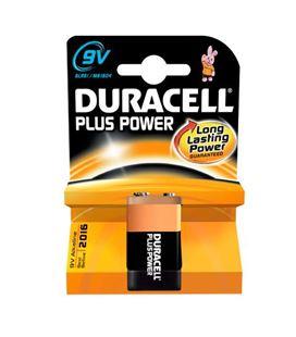 Pila alcalina plus power 9v (6lr61) blister 1 duracell - 110595