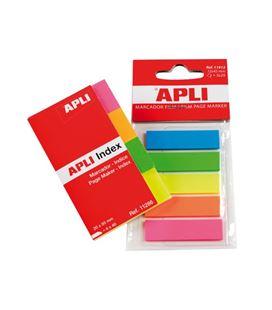 Nota adhesiva posit 20mmx50mm 40h 4colores apli 11286
