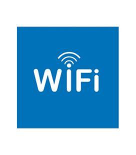 Etiqueta señalizadora zona wifi 114x114mm apli - AP12132