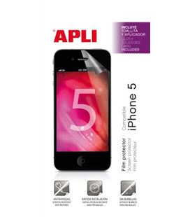 Film transparente protector de pantallas iphone 5 1h apli - 120201