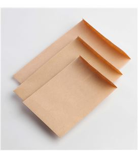 Bolsa kraft 132x187 postal/prolongada c.500 unipapel 005026 - 180379