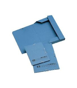 Carpeta goma folio solapa azul unipapel 094674 - 094674