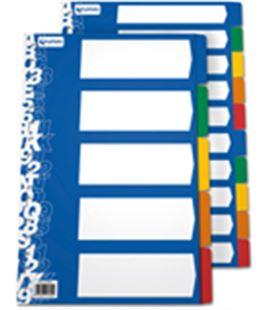 Separador pp a4 5p c.opacos multit grafolioplas 41260000 - GP41260000