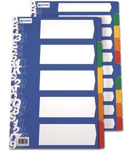 Separador pp foliolio 10 posiciones c.opacos multit grafolioplas 41290000 - 221083