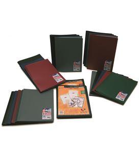 Carpeta 30 fundas fº pp semirigido personalizable negro poliplas grafop - 221333