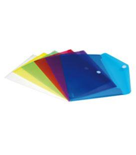 Sobre pp foliolio velcro translucido incoloro grafolioplas