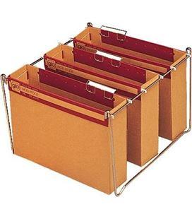 Carpeta colgante kraft foliolio lomo 75mm gio - 784330