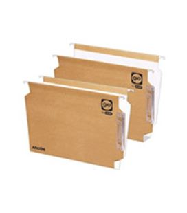 Carpeta colgante kraft a4 240g caja 25u visor lateral rigido 400021926 - GI50100