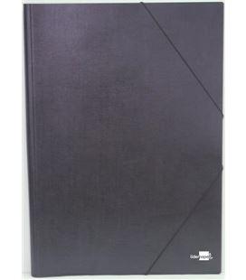 Carpeta gomas a3 s/solapas negro liderpapel 27149 - 220703