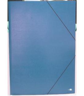 Carpeta gomas a2 s/solapas azul liderpapel - 220715