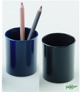 Portalapices plastico azul 78mmx10cm faibo 205-07