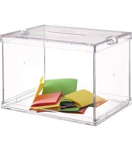 Buzon sugerencia plastico transparente 6158cstp - 241267