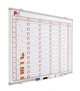 Planning magnetico mensual 60x120 cm planning - 130461