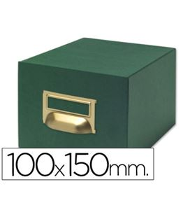 Fichero carton 500 fichas 100x150mm (nº3) liderpapel - 03596
