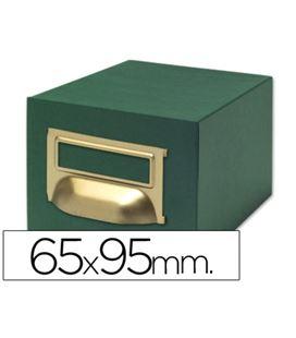 Fichero carton 1000 fichas 65x95mm (nº1) liderpapel tv01 03600