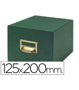 Fichero carton 1000 fichas 125x200mm (nº4) liderpapel tv4 03593 - 03593
