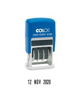 Fechador automatico mini-dater 4 mm colop - SOFT-S-120