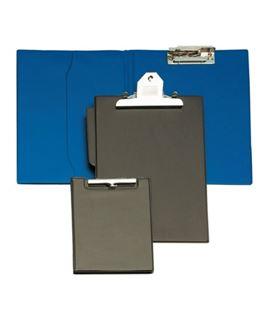 Carpeta miniclip escote foliolio bolsa interior 335x240 azul grafolioplas 1550030 - 01550030