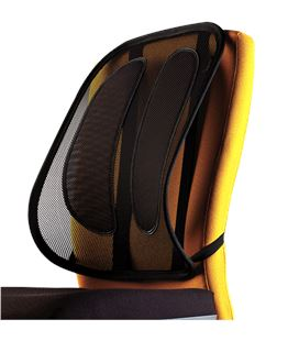 Respaldo ergonomico rejilla mesh office suite oficina fellowes 9191301 - 9191301