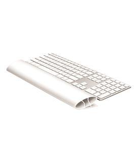 Reposamuñecas teclado flexible i-spire series gris fellowes - 120517