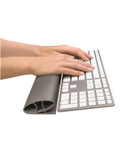 Reposamuñecas teclado flexible i-spire series blanco fellowes - 120519