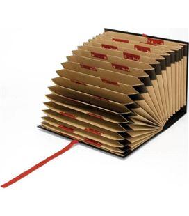 Clasificador acordeon fuelle folio a-z/1-31 granate grafolio 02941050 - 02941050