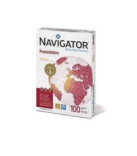 Papel a4 500h 100grs blanco navigator 530249 140364 - NAVIGATOR 100GR
