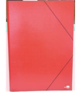 Carpeta planos a2 con goma rojo q-connect 27154 - 220713