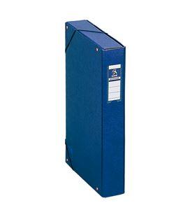 Carpeta proyectos 5cms azul carton foliorrado office dohe 09728