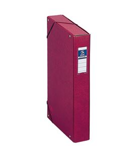 Carpeta proyectos 5cms rojo carton foliorrado office dohe 09729