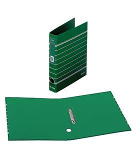 Carpeta 2 anillas a4 rayado verde policolor dohe 90145