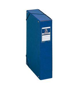 Carpeta proyectos 7cms azul carton foliorrado office dohe 09736