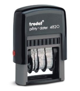 Fechador 4mm trodat printy-4820 73932 - 19201010