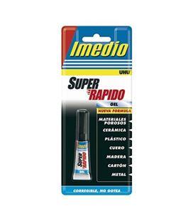 Pegamento liquido super rapido 3grs gel imedio 6304693 15824 - 6304693