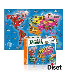 Puzzle 37 pzas paises del mundo diset 63627 - 112906