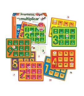 Juego educativo tabla multiplicar diset 63730 - 112850