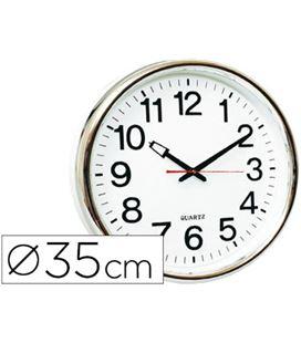 Reloj pared redondo q-connect 22368 kf15591 - 22368