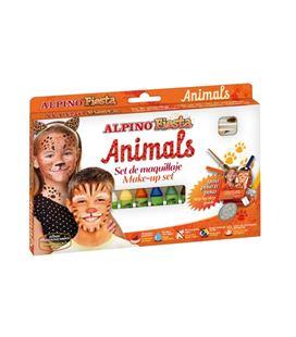 Maquillaje animales alpino dl000111 - DL000111_SET ANIMALS