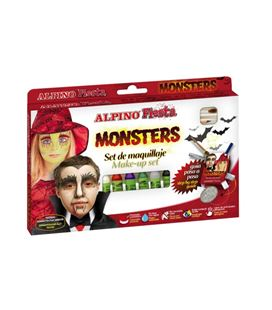 Maquillaje monsters alpino dl000009