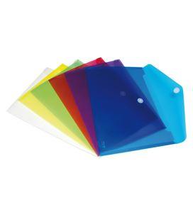Sobre pp foliolio velcro translucido azul grafolioplas 04872230 923731
