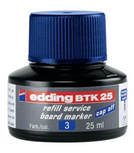 Tinta recargable pizarra blanca azul edding btk-25-03