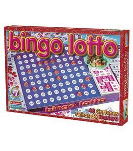 Juego mesa bingo lotto falomir 11519