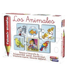 Juego educativo los animales falomir 21019