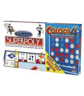 Juego mesa superpoly + coloca 4 falomir 1500 - 01500
