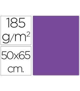 Cartulina 50x65cms 25h 185grs violeta guarro 200040231