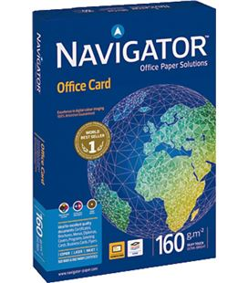 Papel a4 250h 160grs blanco office card navigator 381377 - NAVIGATOR 160GR