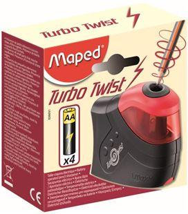 Sacapuntas electrico 1 agujero turbo twist maped 026031
