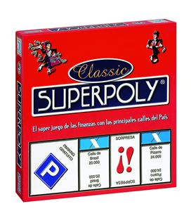 Juego educativo superpoly classic falomir 1505
