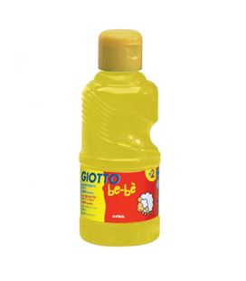 Tempera liquida 250ml amarillo acuareable giotto-fila 531902